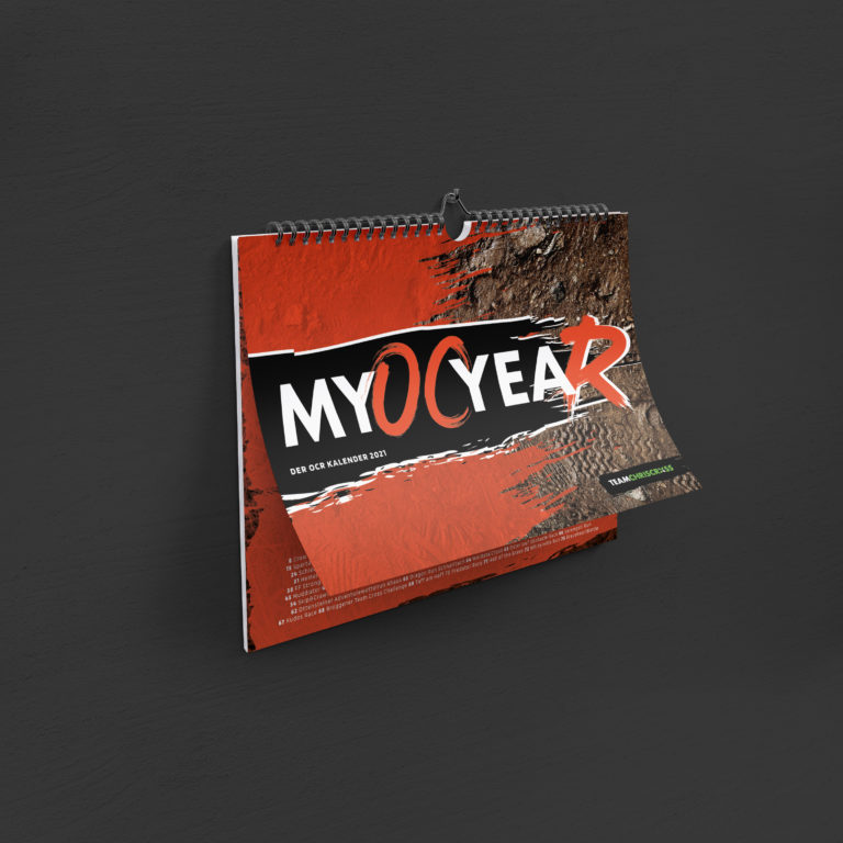 myOCyeaR 2021: Der Hindernislauf Kalender