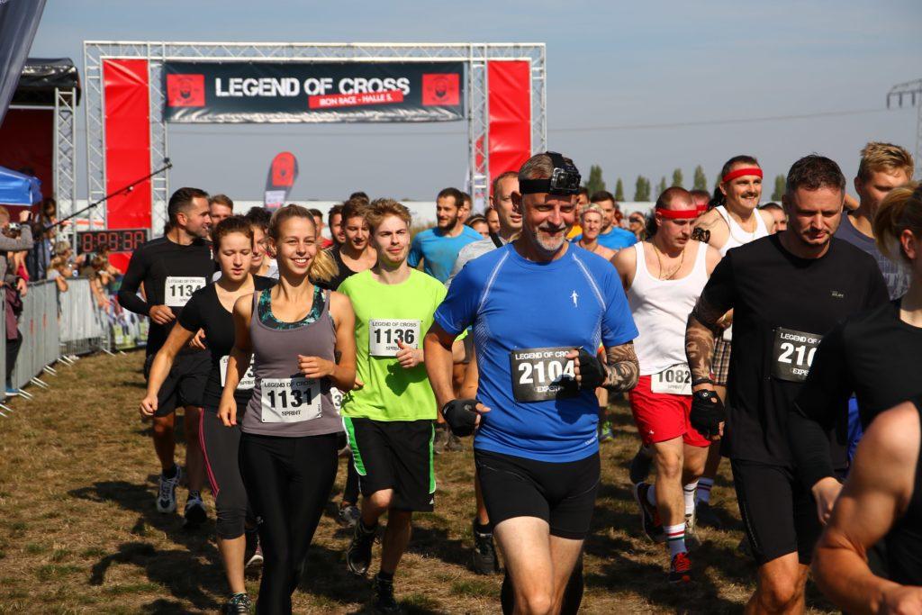 Start 1. Iron Race Halle 2018