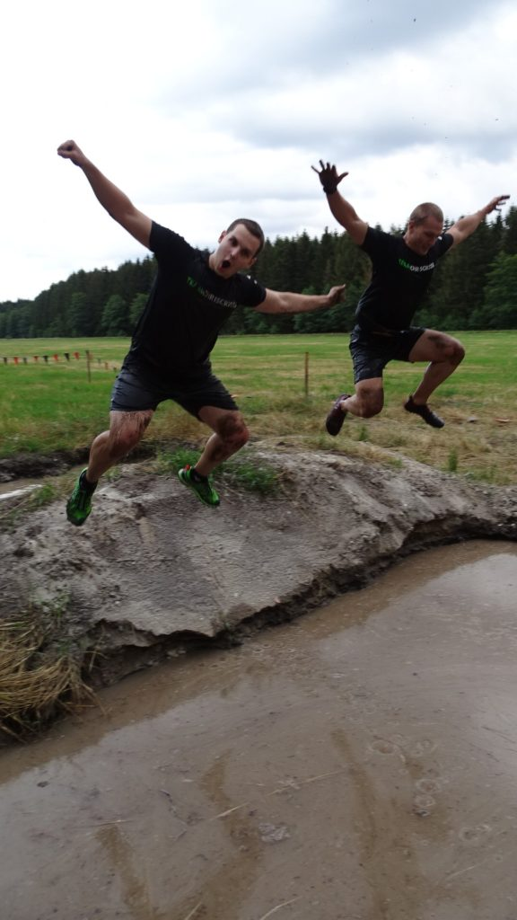 Sprung in die Mud Mile Tough Mudder Nord 2019