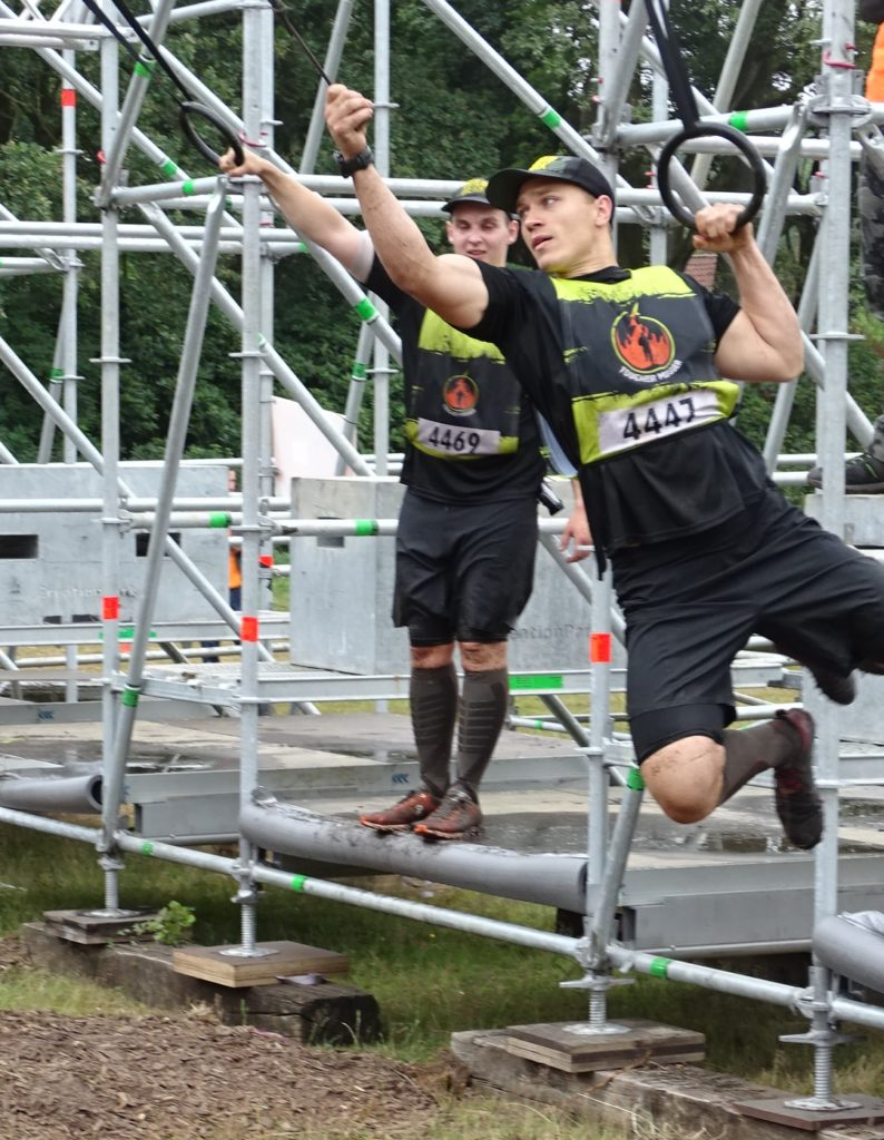 Kong, The Gauntlet, Hindernis OCR Tough Mudder 2019
