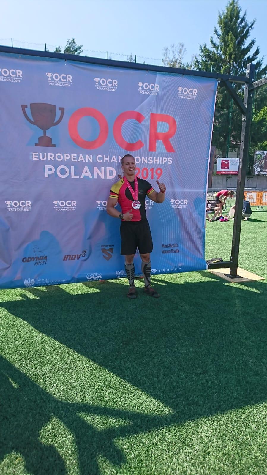 Chris Robbrecht, OCREC in Polen, Finish, OCRA Germany