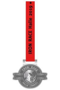 Medaille Iron Race Halle 2019