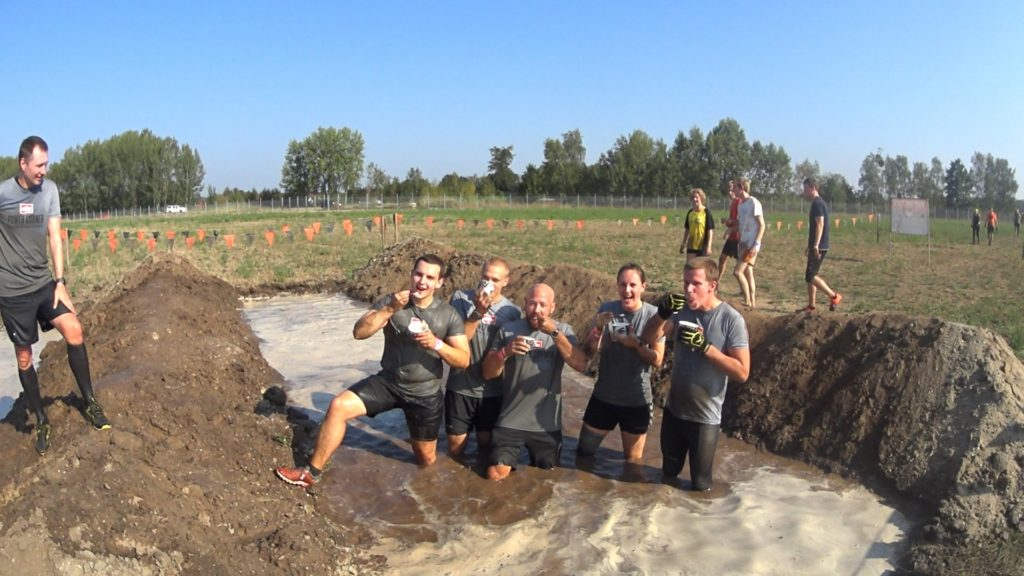 Tough Mudder Berlin Brandenburg mit Power Corner im Matsch