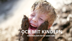 Hindernislauf mit Kindern oder der ganzen Familie