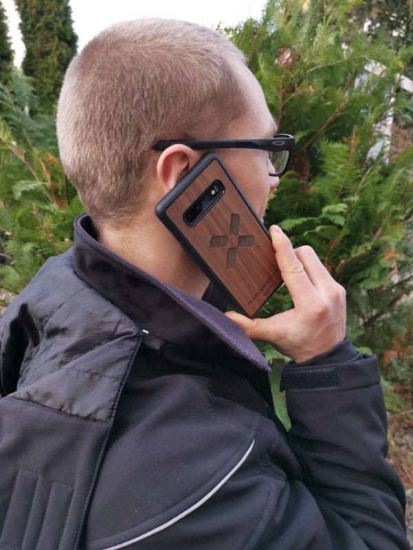 Team Chris Cross Handyhülle Holz Samsung