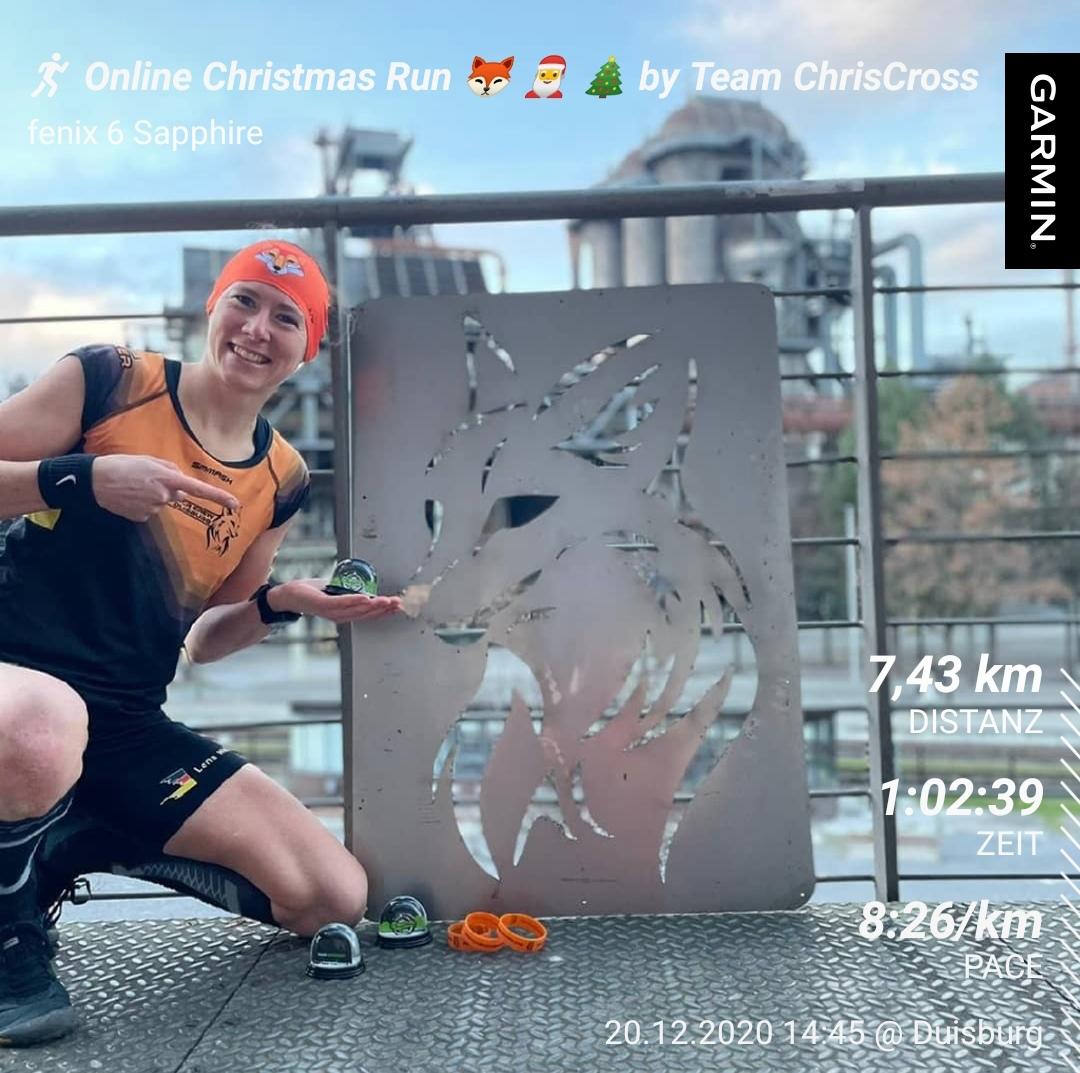 Lena Weller Online Christmas Run
