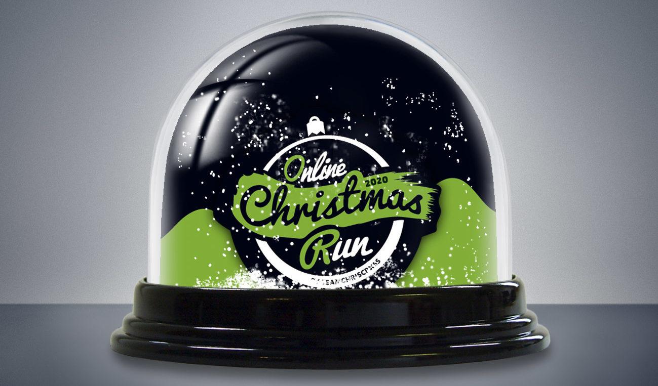 Online Christmas Run 2020 Schneekugel