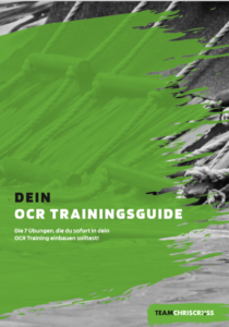 OCR training trainingsguide Vorbereitung Hindernislauf