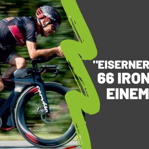 """""""Eiserner Franke"""": 66 Ironman in einem Jahr"""
