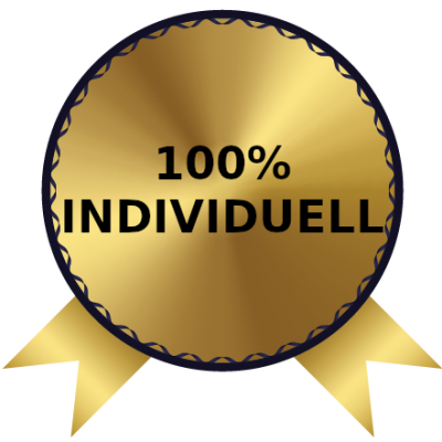 100% Individuell