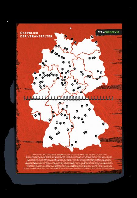 OCr Deutschlandkarte Hindernisläufe