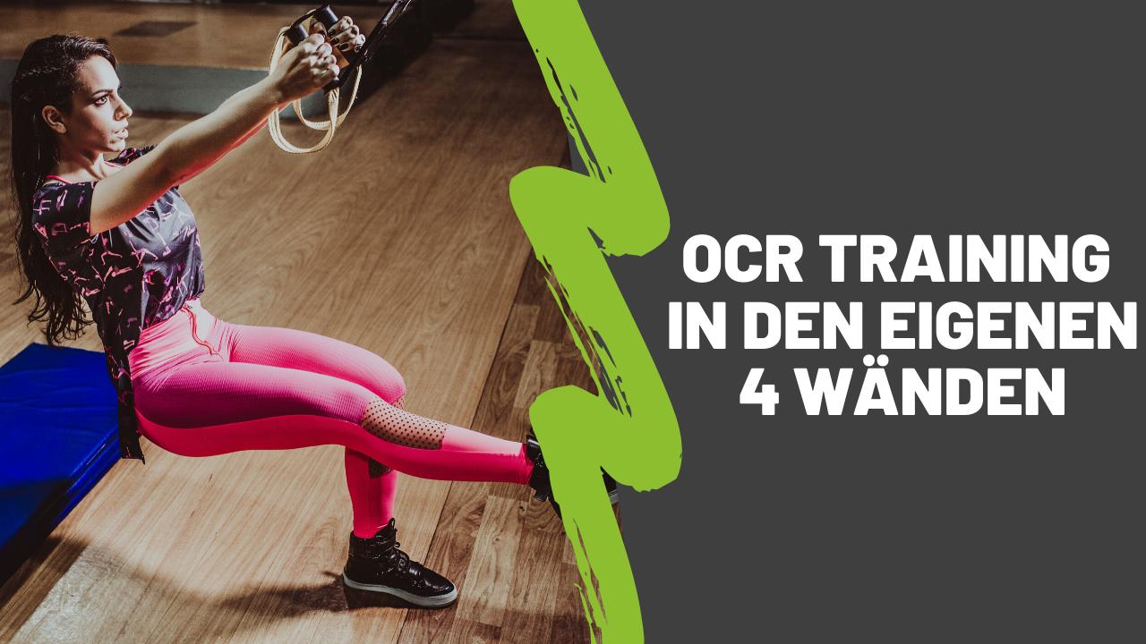 OCR Training in den eigenen 4 Wänden