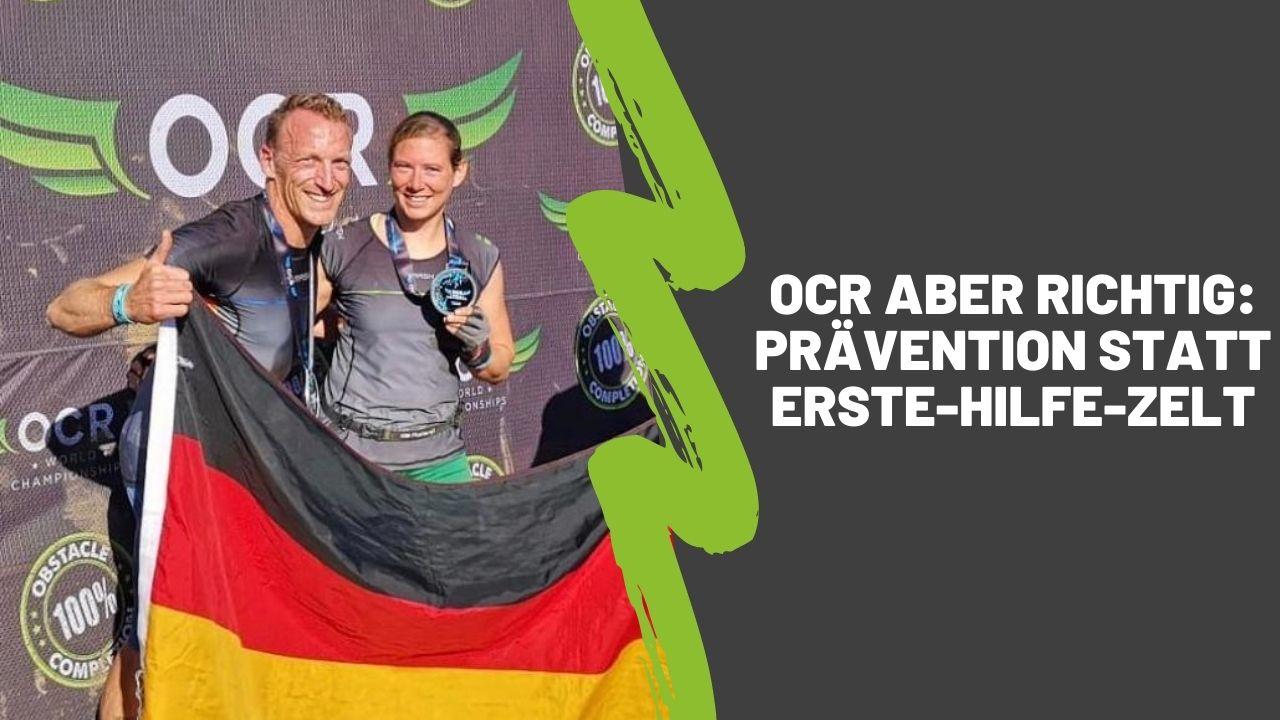 OCR aber richtig: Prävention statt Erste-Hilfe-Zelt