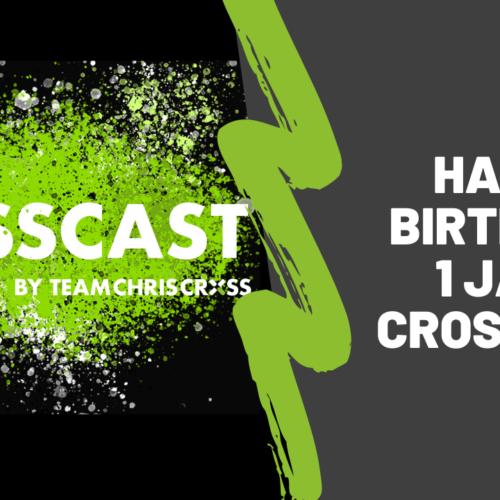 Happy Birthday: 1 Jahr CrossCast